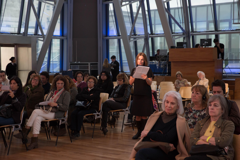 video conferencia de Harold Bloom en el CCK por festival Shakespeare Argentina